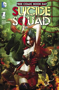 FCBD DC Suicide Squad 2016