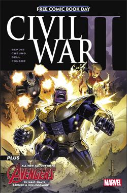FCBD Marvel civil war 2016