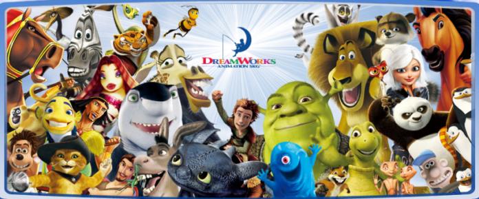 dreamworks family portrait
