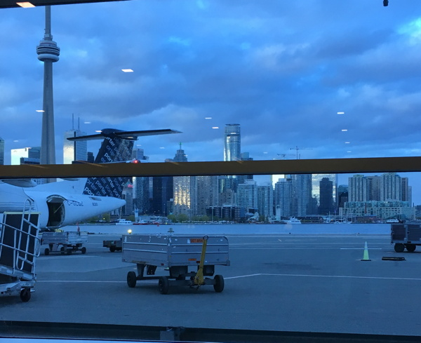 And so to Porer Air and farewell, Toronto. Until 2017!