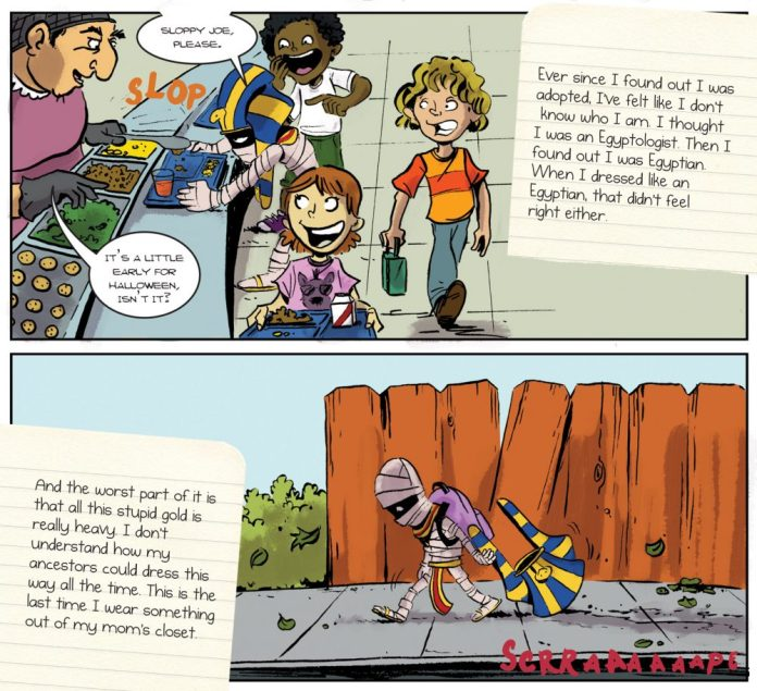 Monster Elementary Excerpt 3 - Words by Nicholas Doan - Art by Christopher Tupa