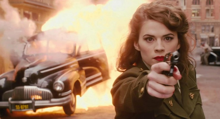 Hayley Atwell Knows How You Feel About THAT Kiss from CAPTAIN AMERICA: CIVIL WAR