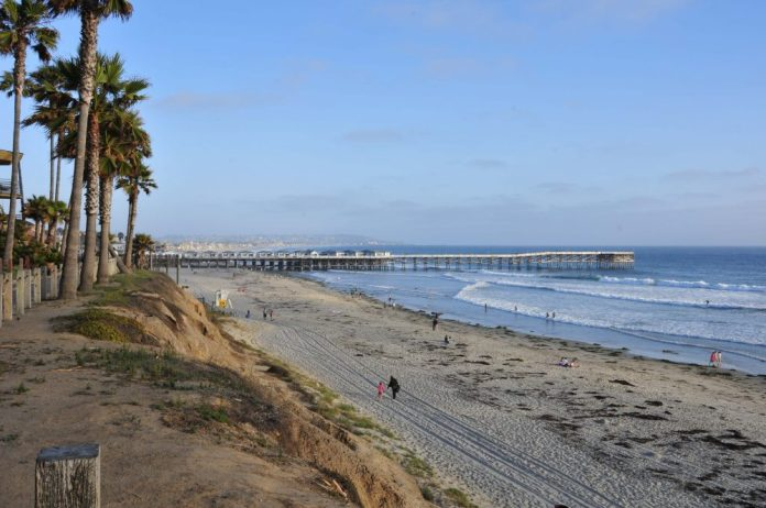 Pacific Beach and Crystal Pier