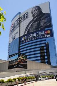 Hyatt featuring All Star Game Advertising