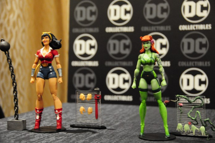 DC Bombshells Action Figures: Wonder Woman and Poison Ivy