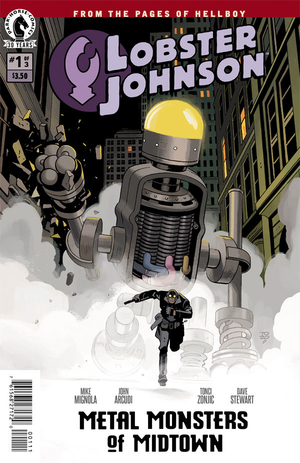 Lobster Johnson : MMM #1