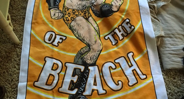 SDCC: Is this Flex Mentallo towel the greatest exclusive at San Diego?