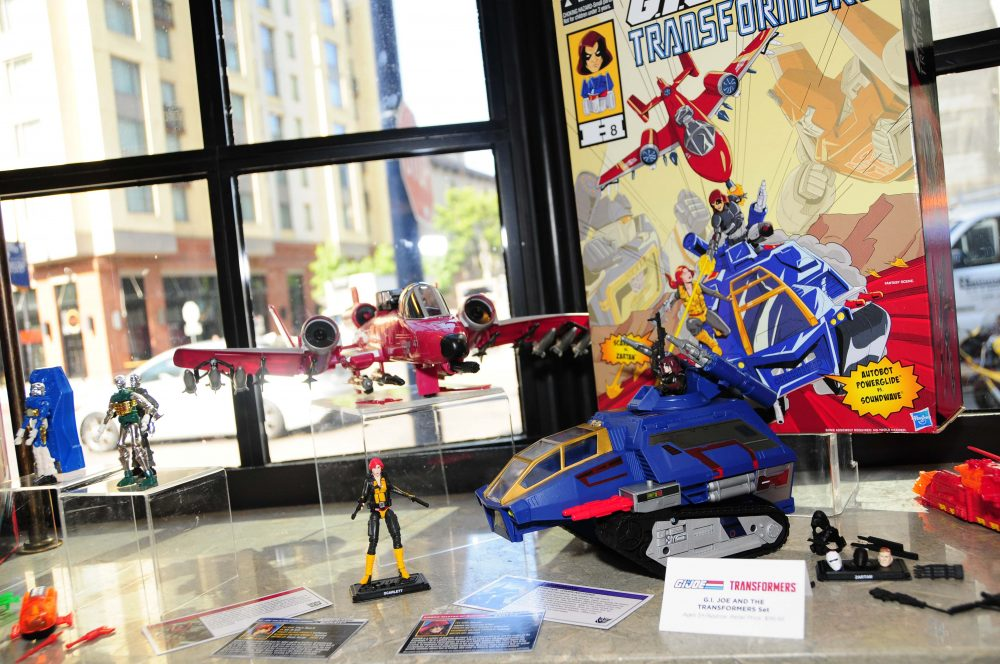 G.I. Joe and Transformers set