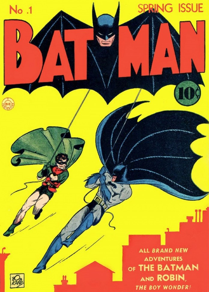 Cover by Bob Kane and Jerry Robinson