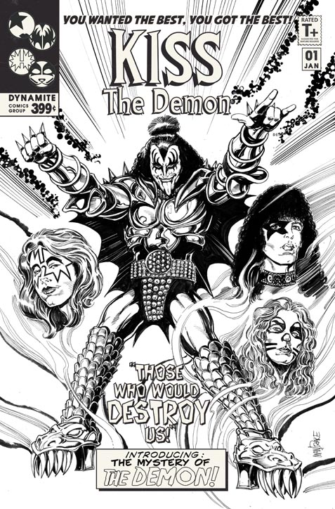 Dynamite Announces Kiss The Demon Spinoff Starring Gene