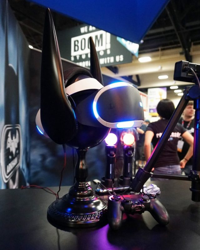 PSVR cowl not included SDCC