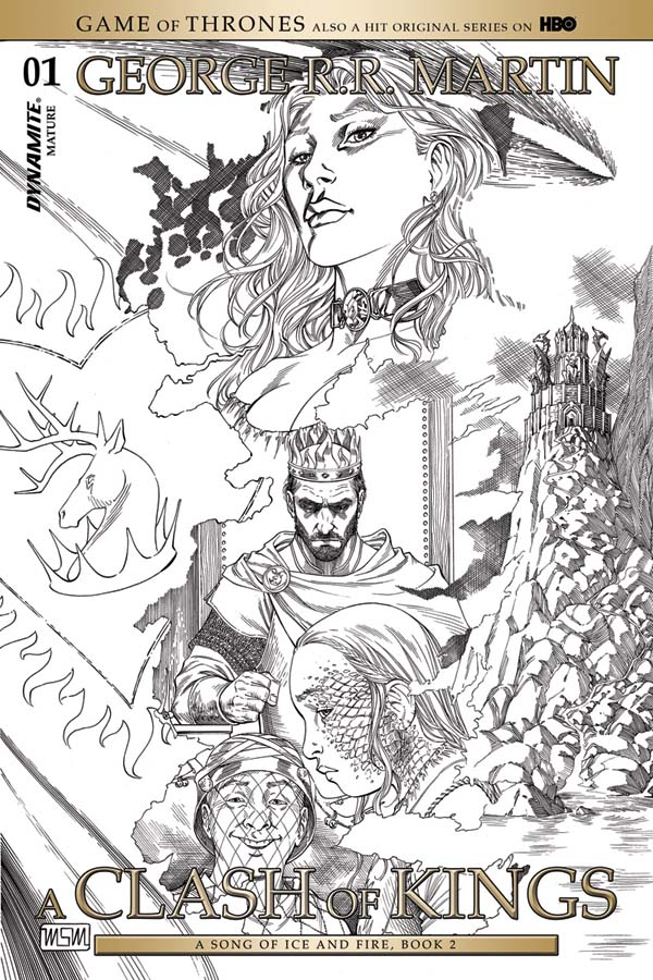 A clash of kings graphic novel