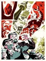 Toronto Apocalypse by Michael Cho