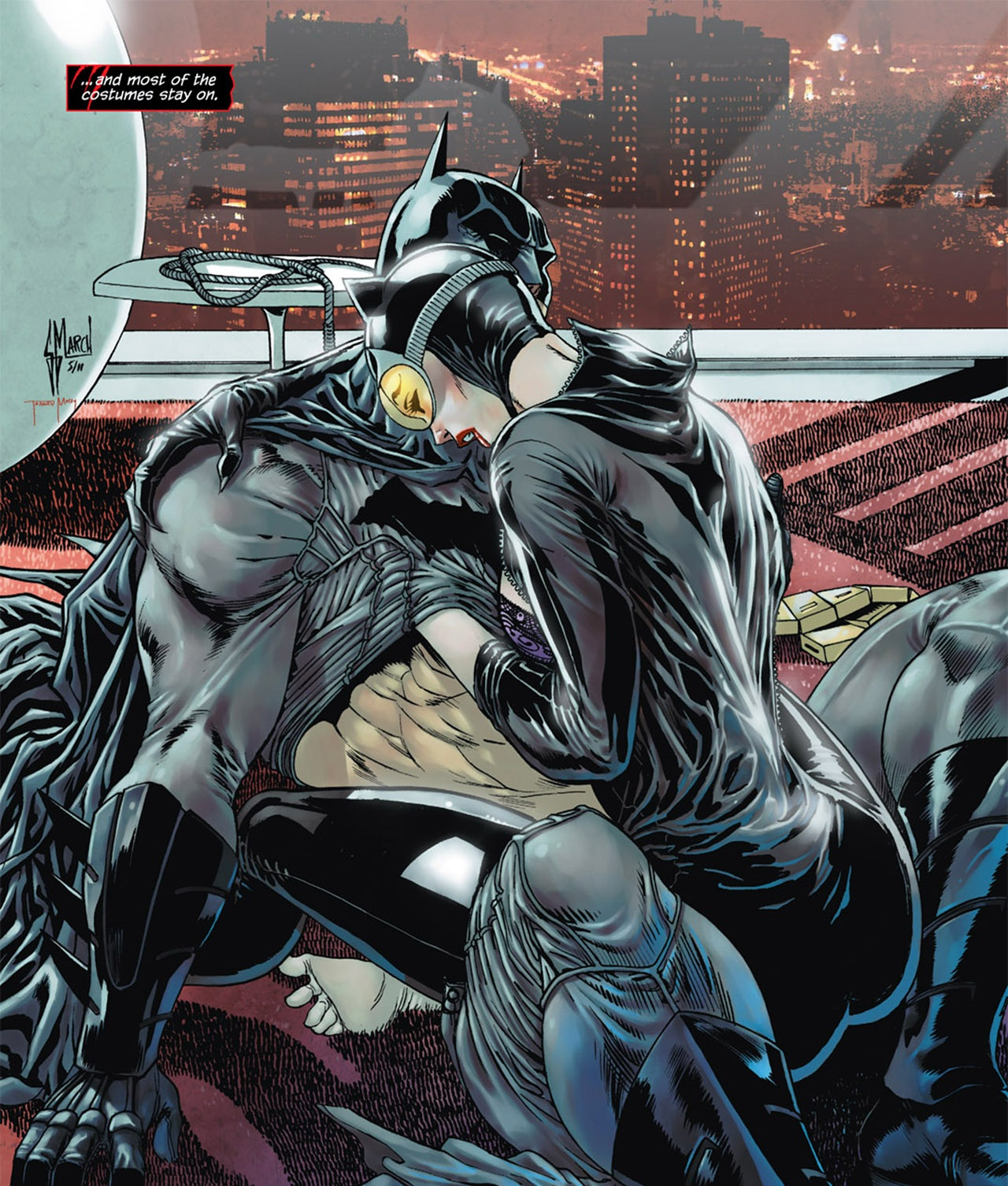 Batman and Catwoman are faced with some big life choices ...