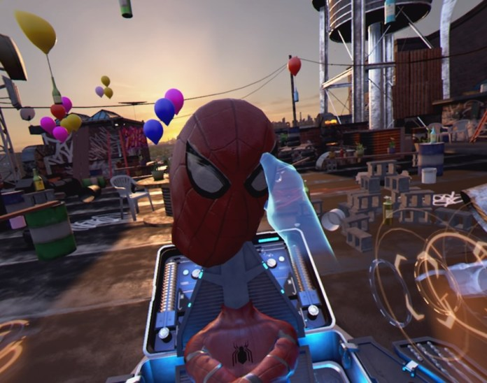 Spider-Man Homecoming VR experience: 5 minutes of something