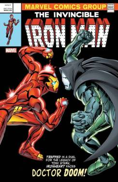 Iron Man 593 Homage cover