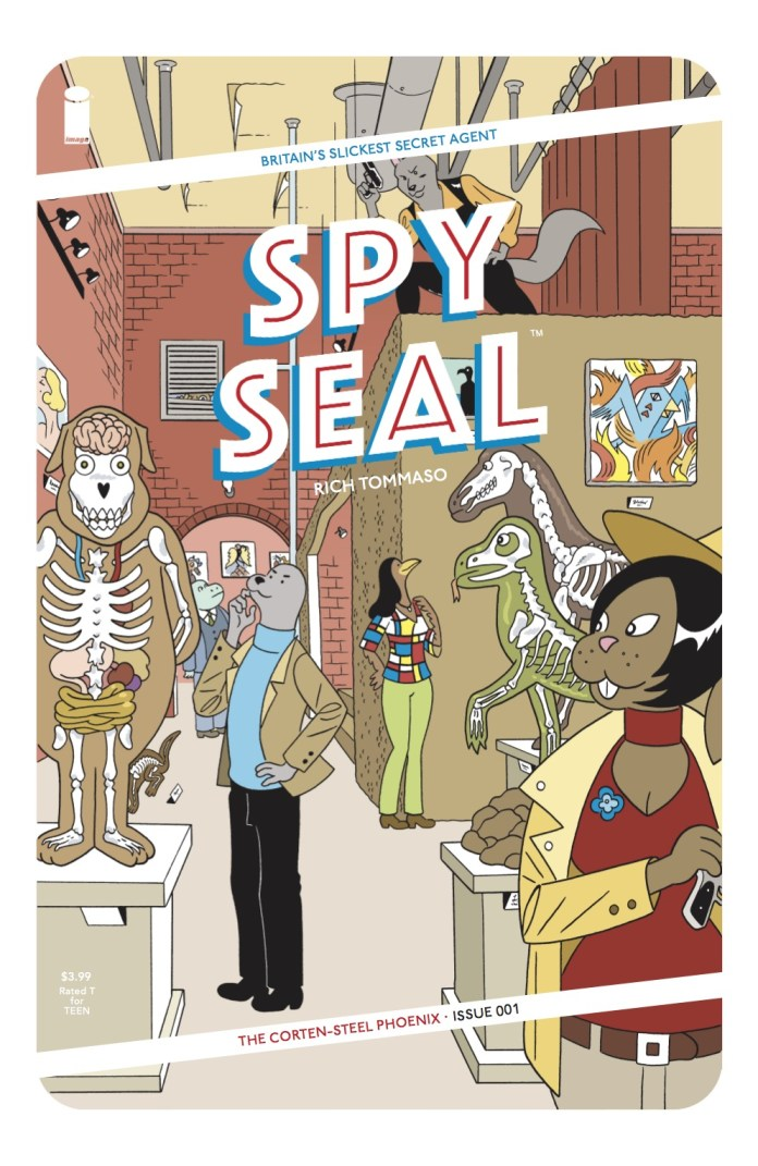 SPY SEAL 001.Cover