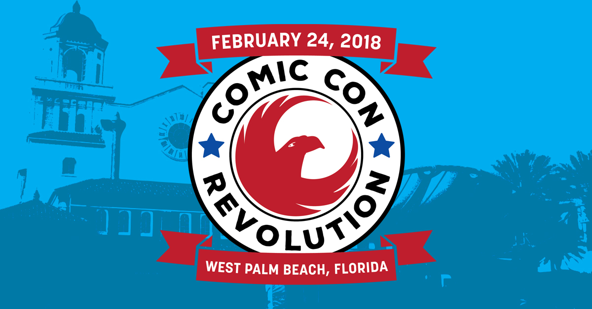Comic Con Revolution announces a show for West Palm Beach in