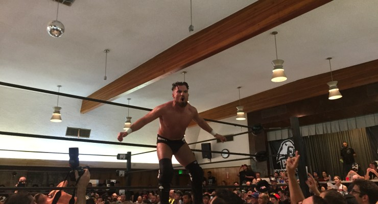 NO SPANDEX SUNDAY: LA's Hottest Ticket of the Weekend was the Burning Man Fest of Wrestling!