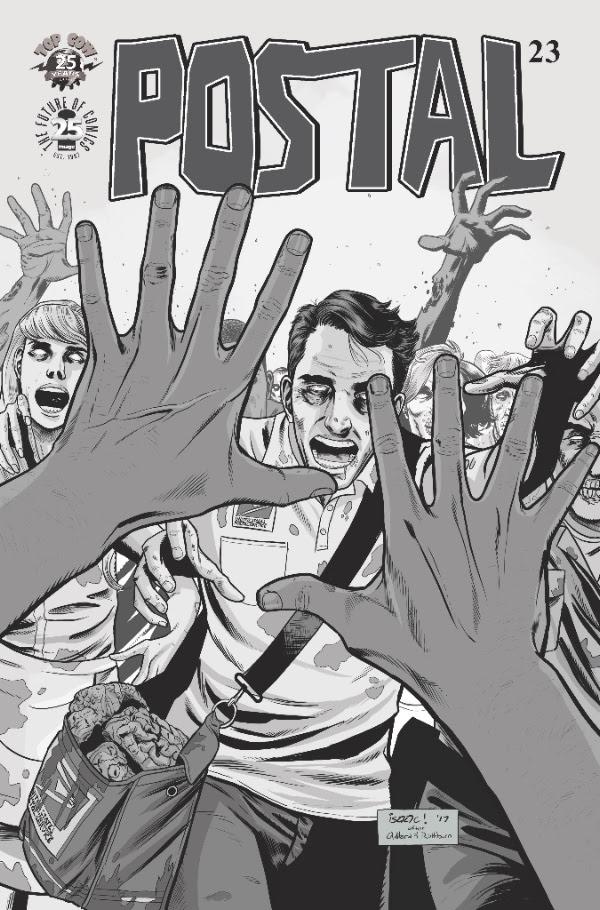 Extremity #7 Walking Dead Homage Color Variant Cover Daniel Warren Johnson