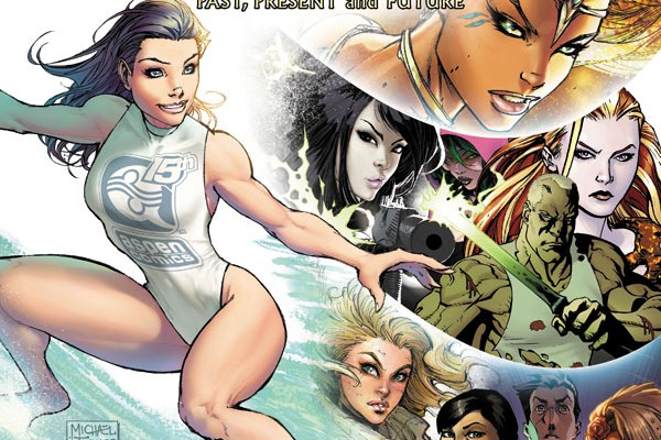 The First Wave of ASPEN COMICS 15th Anniversary is…20 Years of Fathom and the Return of Shrugged.