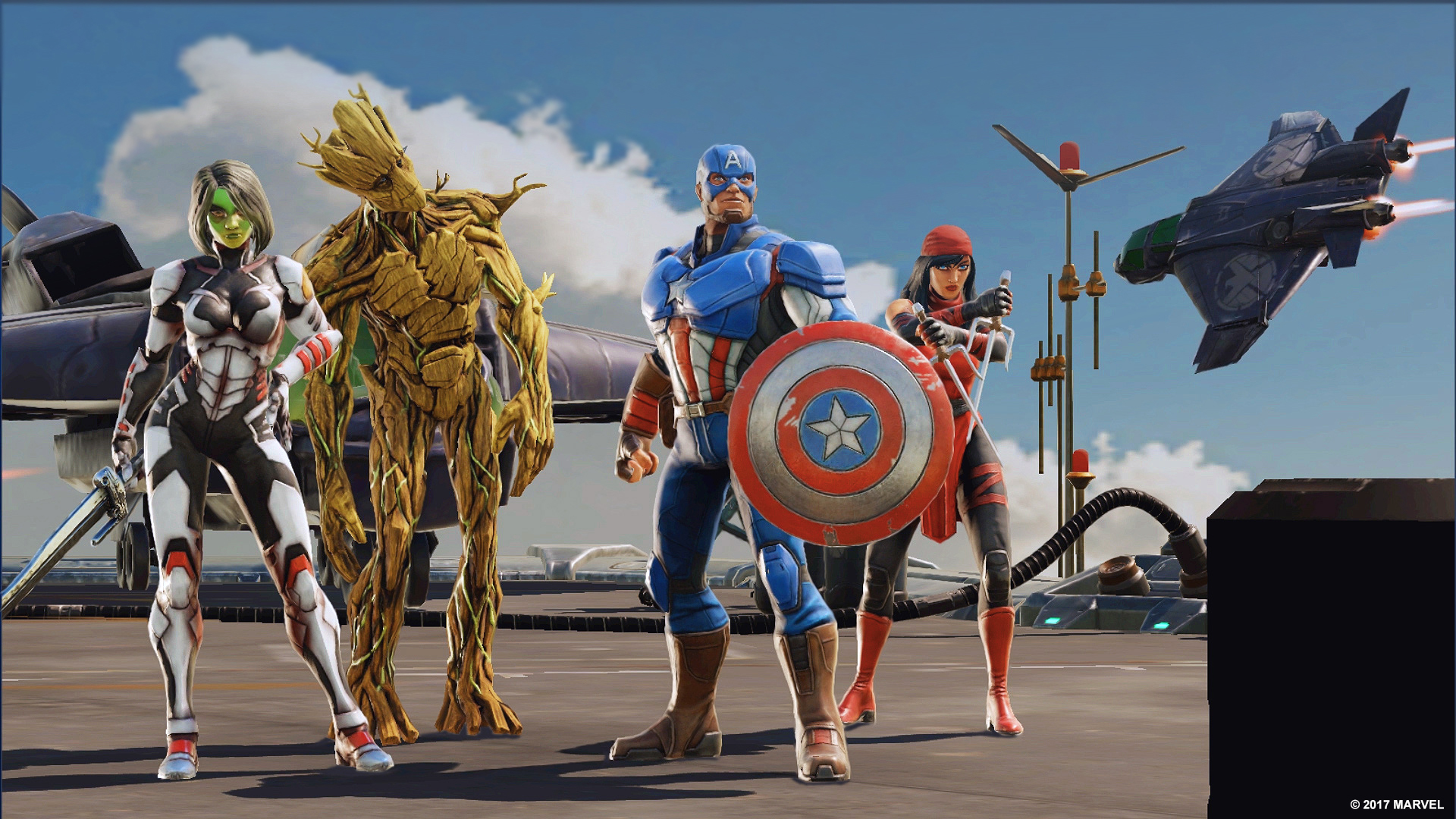 Marvel Announce, STRIKE FORCE, A New Game Coming to Mobile