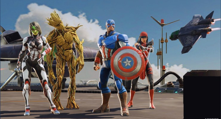 Marvel Announce, STRIKE FORCE, A New Game Coming to Mobile in 2018.