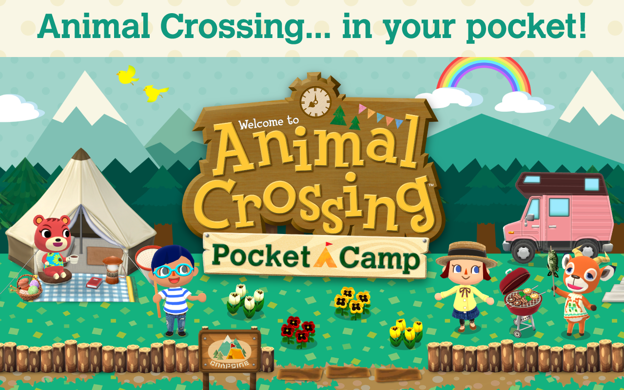 Animal Crossing Pocket Camp The Adorable New App Game That Wants