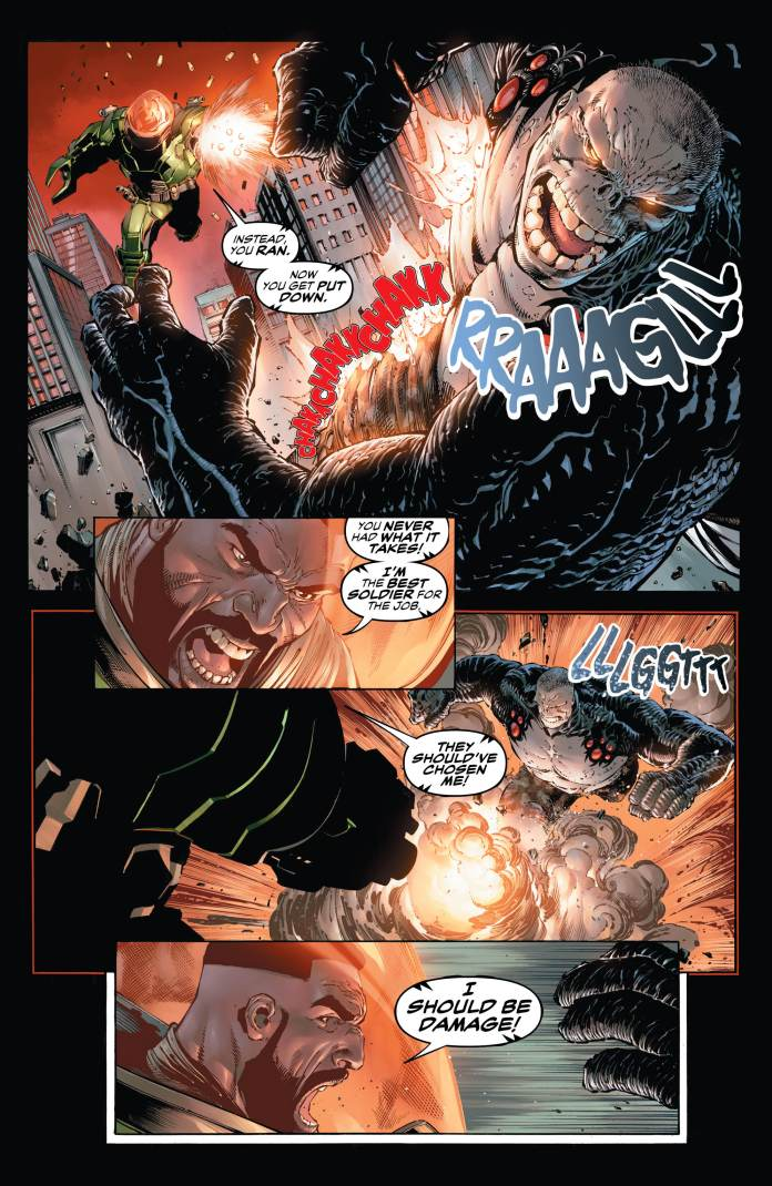 DC ROUND-UP: Tony Daniel lets loose some DAMAGE! - The Beat