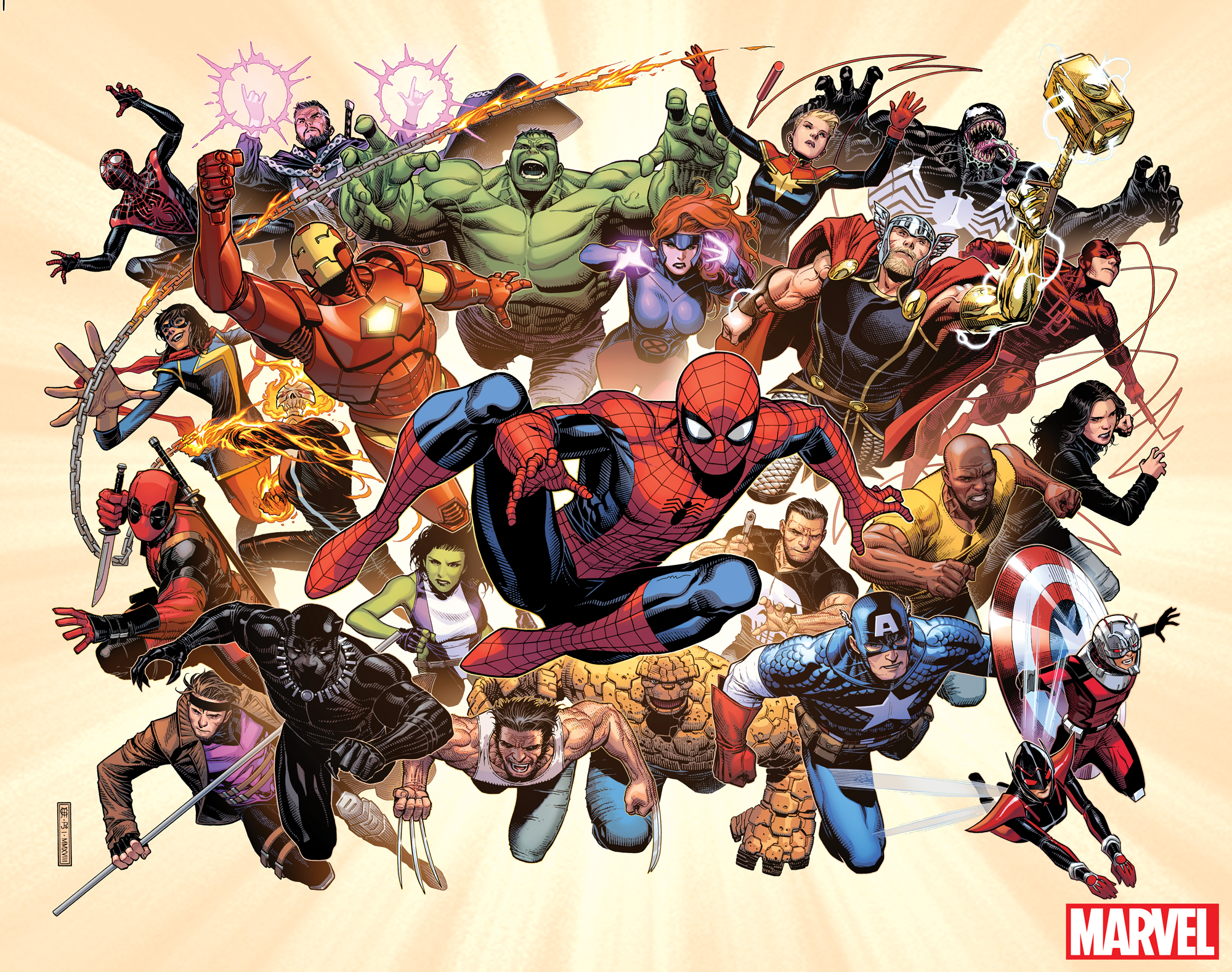 Marvel Comics announces line-wide relaunch 'Fresh Start'