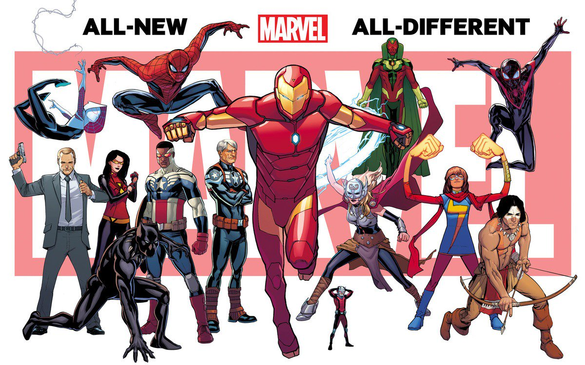 Marvel Comics promises a 'fresh start' with its latest relaunch