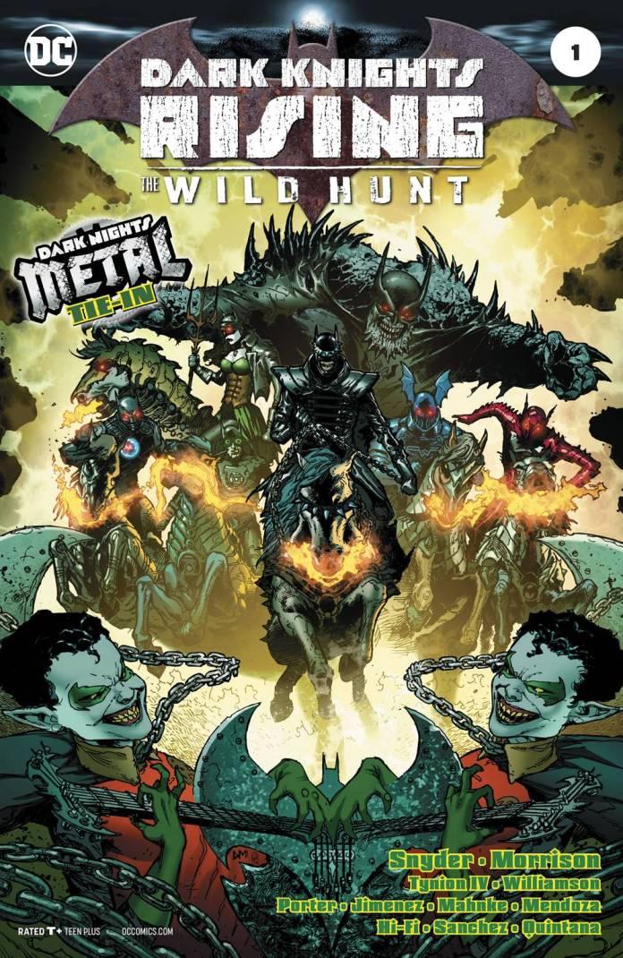 Dark Knights Rising The Wild Hunt #1