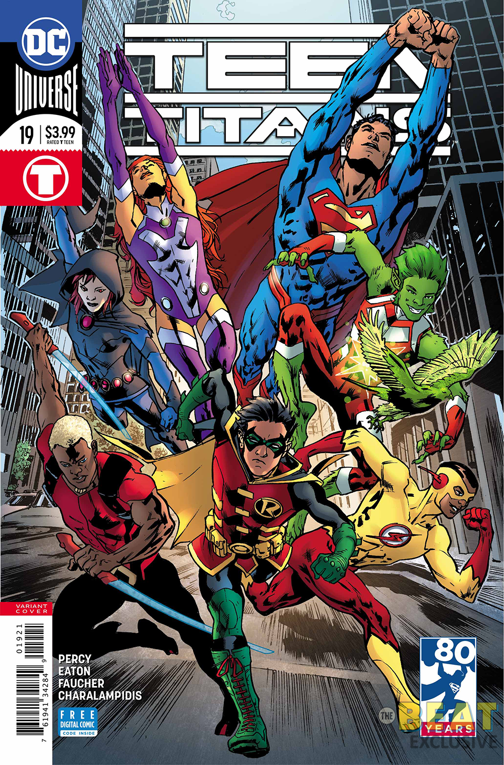 Comic free teen titans