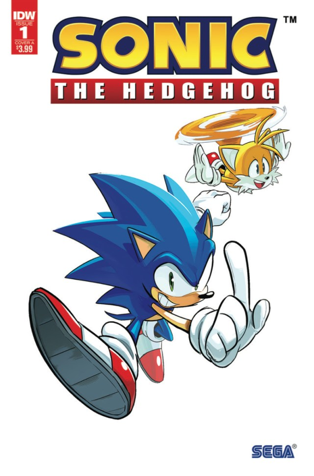 Sonic The Hedgehog 1 Gets A Second Printing At Idw The Beat