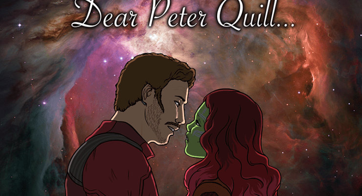 Dear Peter Quill: Learn from Gamora. Grow up.