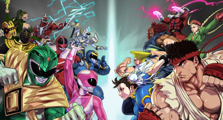 Street Fighter enters the Power Rangers arena.