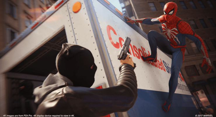 E3 2018: Hands-on. Marvel's Spider-Man earns a big New York sized chef kiss.