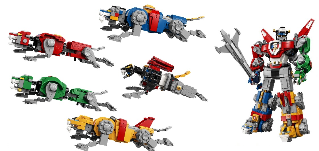 LEGO Voltron Set Available Early At SDCC '18
