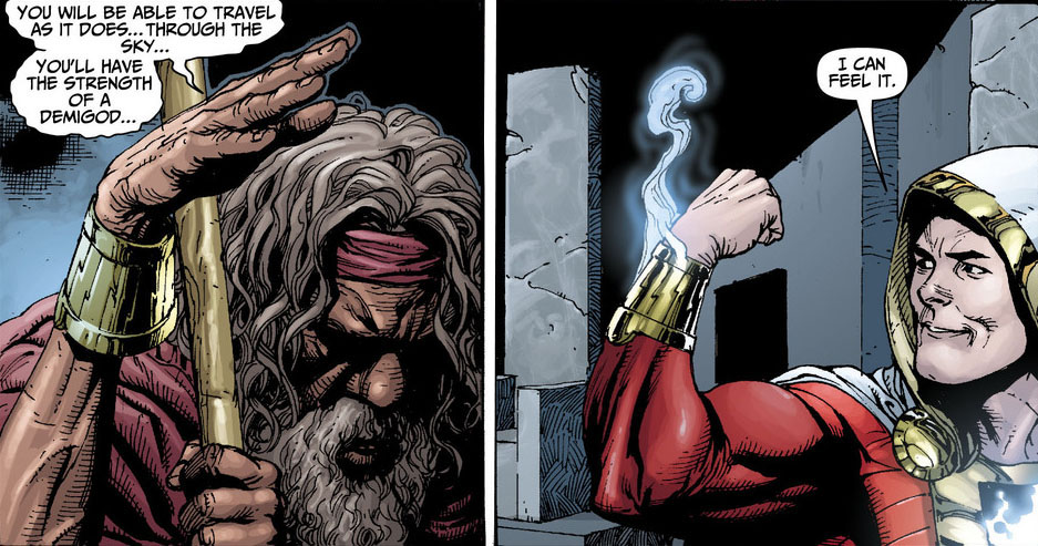 DC's 'Shazam!' Casts Djimon Hounsou As The Wizard