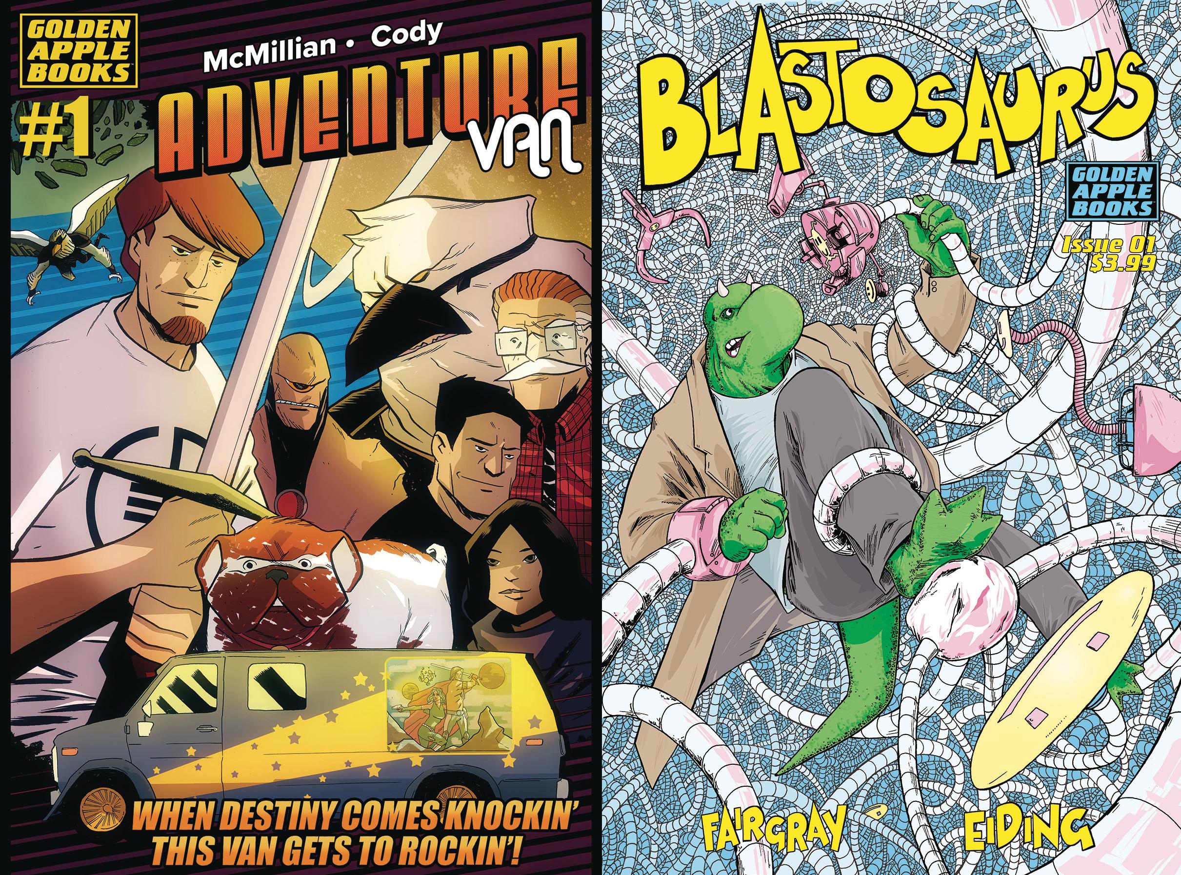 SDCC '18: Golden Apple Comics Announces Free Con-Exclusive Variants