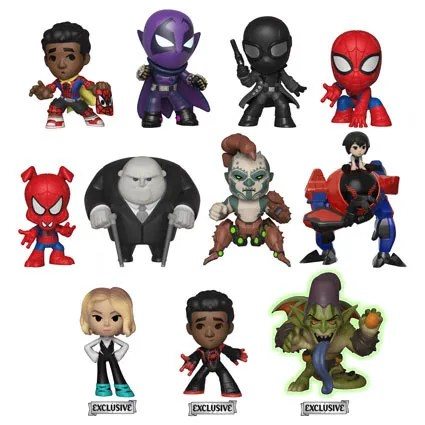 Spider Ham Peni Parker Scorpion And More Revealed In