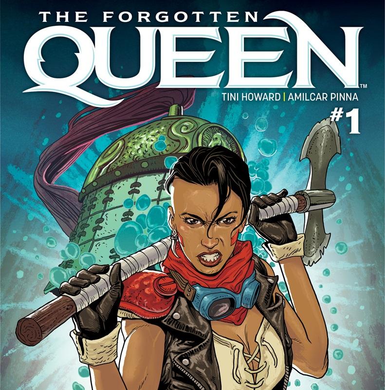 The Forgotten Queen #1 Pre-Order Cover