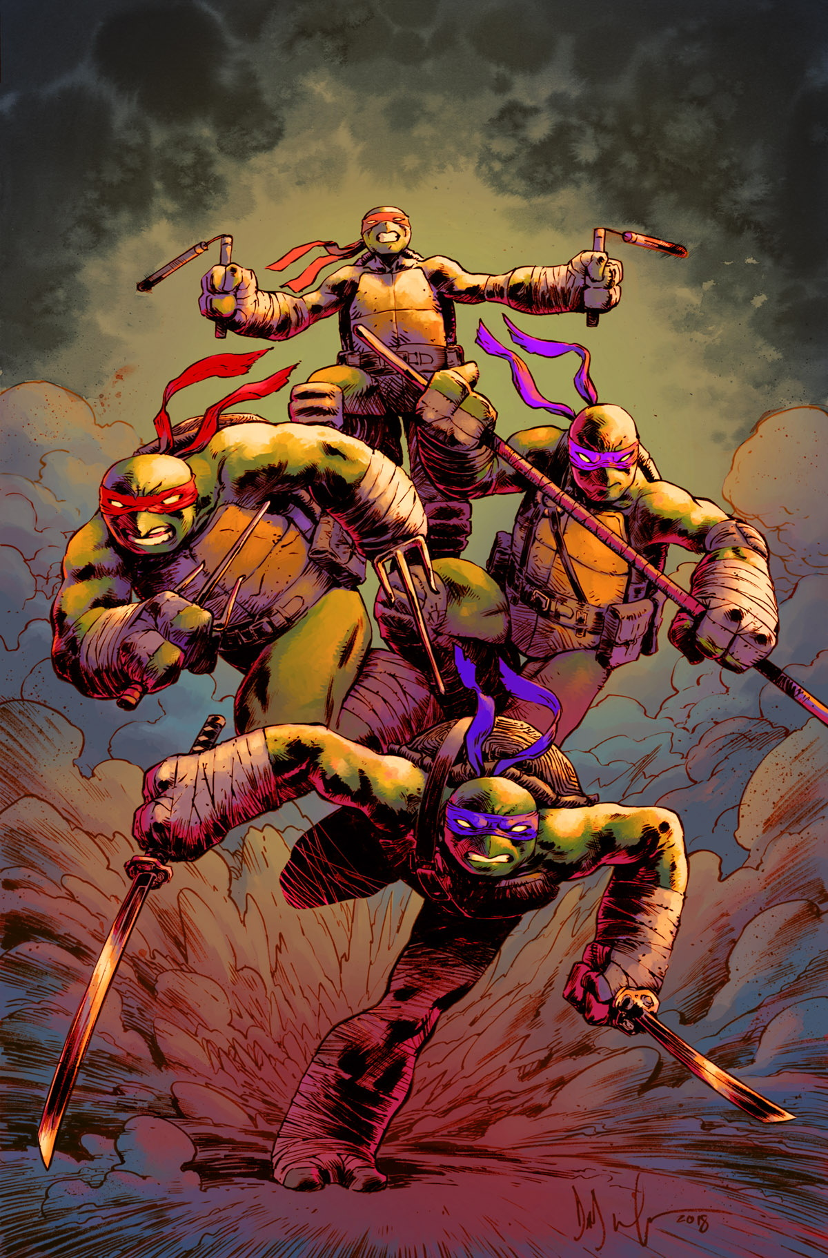 FCBD19_G_IDW Publishing_TMNT Countdown City War_2