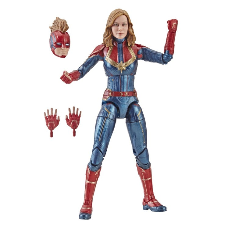 "Le Capitaine Marvel Film Cosmic CAPTAIN MARVEL Doll 12/"" Action Figure Avengers"