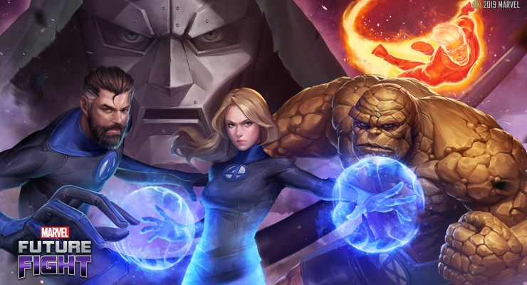 The Fantastic Four Arrive in Marvel Future Fight and It's Just The Beginning