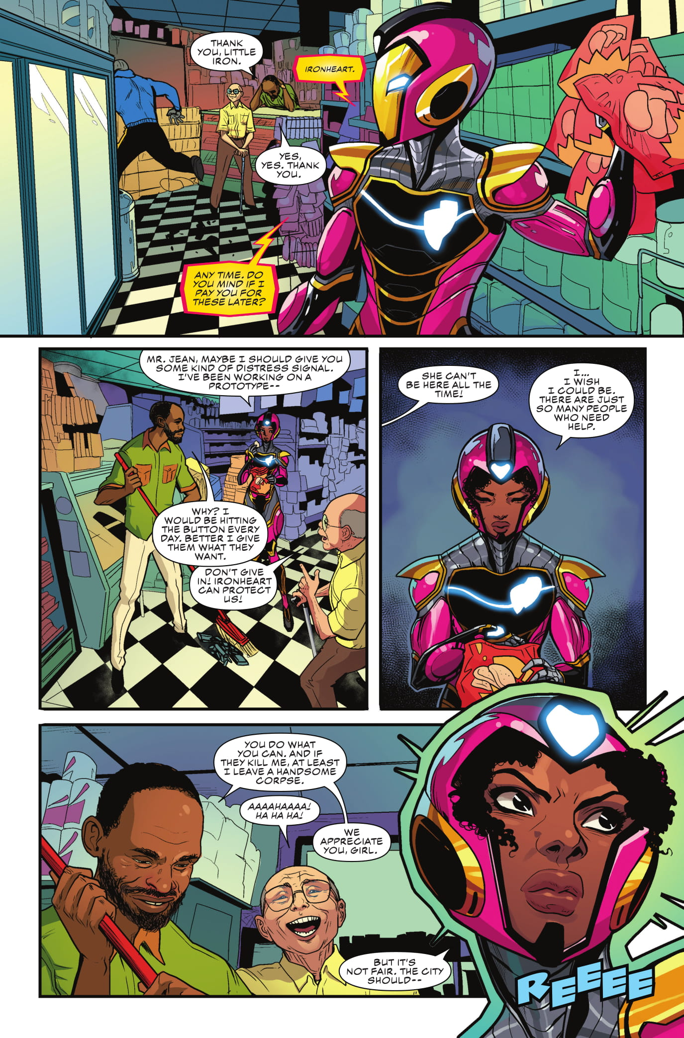 Exclusive Preview: Ironheart #2