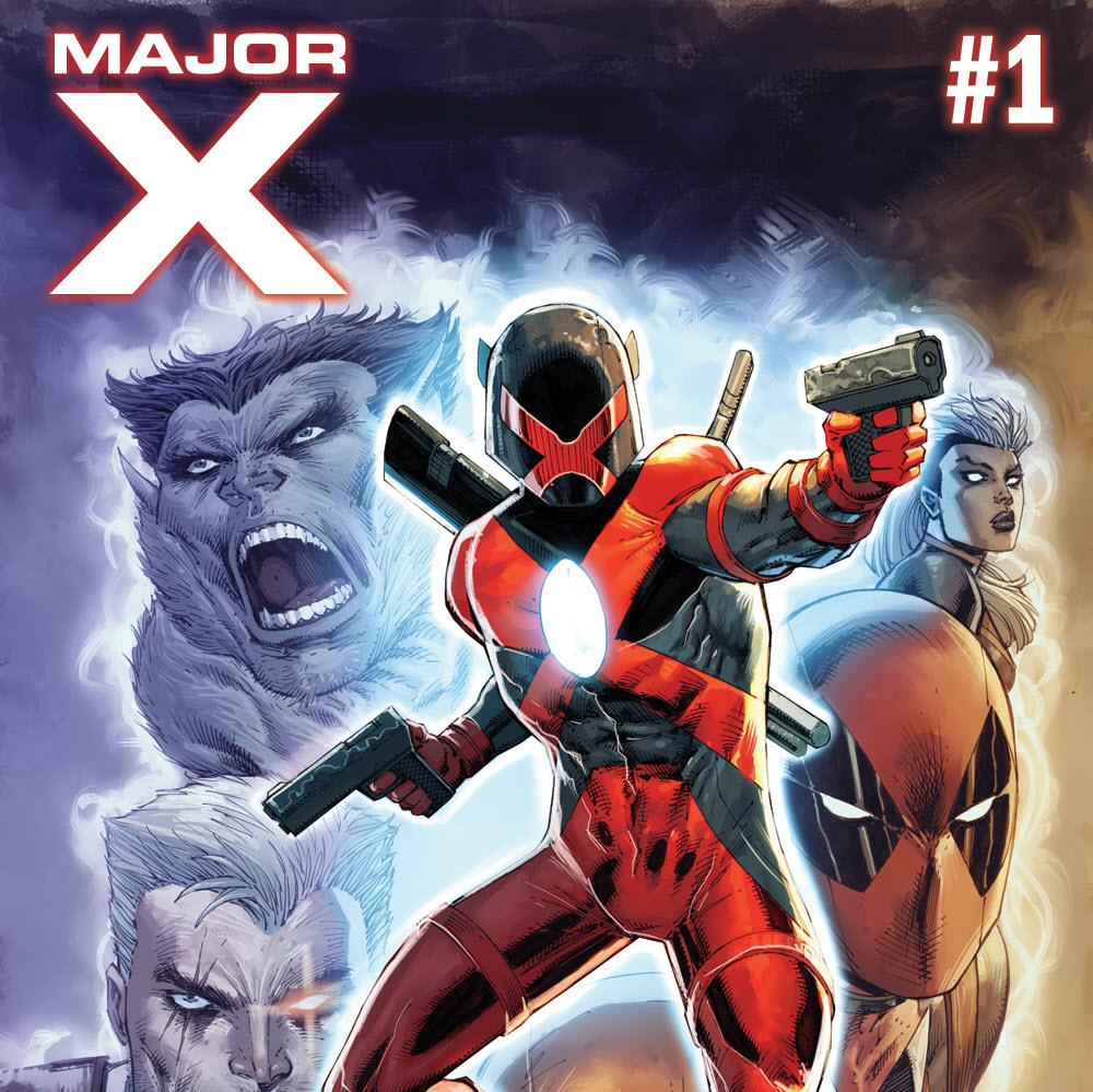 COMIC MAJOR X #1 LIEFELD VARIANT MARVEL 2019 2nd Print