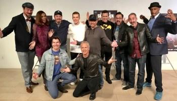 Reign LA Premiere group photo