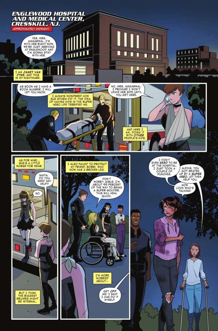 Unstoppable Wasp #4 Page 1
