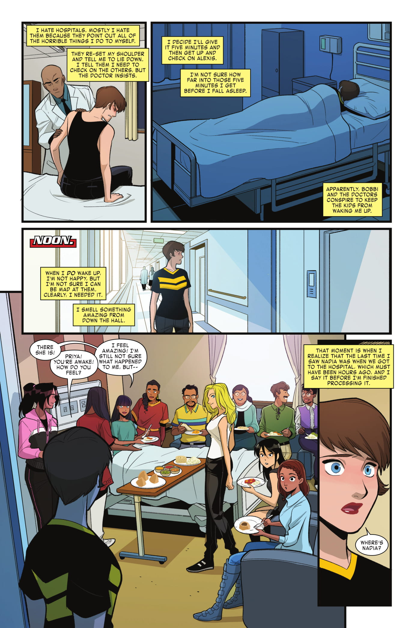 Unstoppable Wasp #4 Page 5